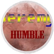 Jeremy - Humble Round Beach Towel