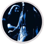 Jerry And Donna Blues 1978 Round Beach Towel