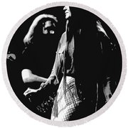 Jerry And Donna Godchaux 1978 A Round Beach Towel