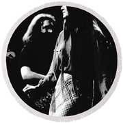 Jerry And Donna Godchaux 1978 Round Beach Towel