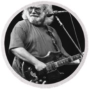Jerry Garcia Band Round Beach Towel