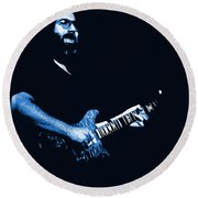 Jerry Sings The Blues 1978 Round Beach Towel