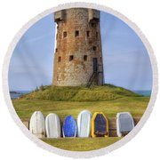 Jersey - Le Hocq Round Beach Towel