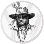 Jesse Round Beach Towel