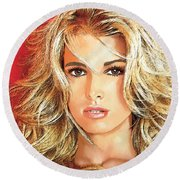 Jessica Simpson Round Beach Towel
