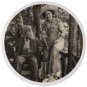 Jessie Tarbox Beals(1870-1942) Round Beach Towel