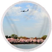 Jet Blue Airlines Round Beach Towel