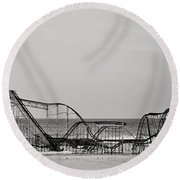 Jet Star  Round Beach Towel by Terry DeLuco