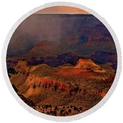 Jewel Of The Grand Canyon Round Beach Towel