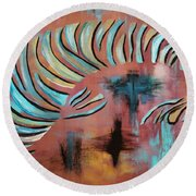 Jewel Of The Orient Round Beach Towel