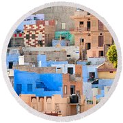 Jodhpur - Rajasthan - India Round Beach Towel