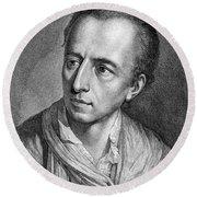 Johann Joachim Winckelmann (1717-1768) Round Beach Towel