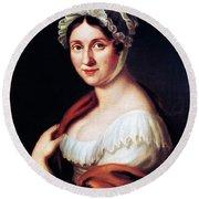 Johanna Wagner (1774-1848) Round Beach Towel