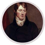 John Constable (1776-1837) Round Beach Towel