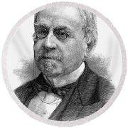 John Guy Vassar (1811-1888) Round Beach Towel