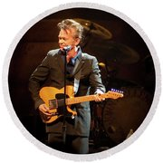 John Mellencamp 437 Round Beach Towel