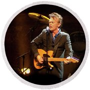 John Mellencamp 464 Round Beach Towel
