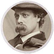 John Sidney Woollett (1845-1917) Round Beach Towel