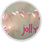 Jolly Round Beach Towel