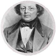 Joseph Skoda (1805-1881) Round Beach Towel
