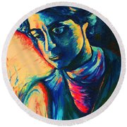 Joseph The Dreamer Round Beach Towel