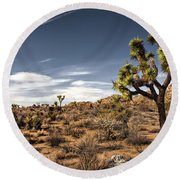 Joshua Tree 15 Round Beach Towel