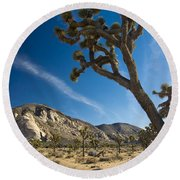 Joshua Tree Afternoon Round Beach Towel
