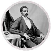 Josiah Thomas Walls (1842-1905) Round Beach Towel