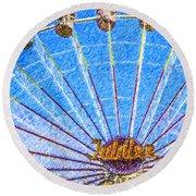 Jubilee Ferris Wheel Round Beach Towel