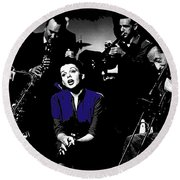 Judy Garland Singing The Man That Got Away A Star Is Born 1954-2014   Round Beach Towel