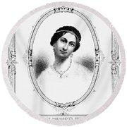 Julia Tyler (1820-1869) Round Beach Towel