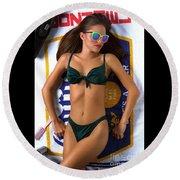 Julie Corona Round Beach Towel