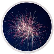 July 4th 2014 10 Round Beach Towel