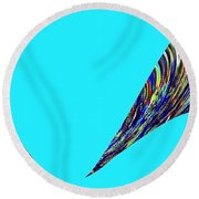 Jungle Twitter Round Beach Towel
