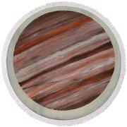 Jupiter Spectral Round Beach Towel