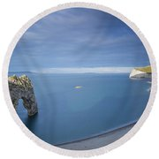 Jurassic Coast - Durdle Door Round Beach Towel