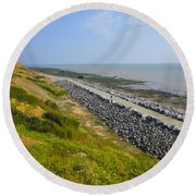 Jurassic Coast Round Beach Towel