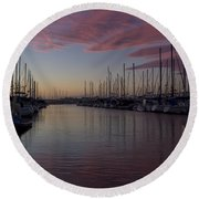 Just A Fleeting Moment Round Beach Towel