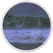 Just A Whisper Round Beach Towel