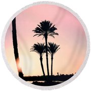 Just Another Magic Monday.. Round Beach Towel
