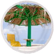 Just For You Round Beach Towel