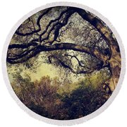 Just How It Ought To Be Round Beach Towel by Laurie Search