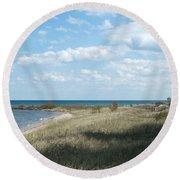 Just Perfect Round Beach Towel