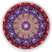 K14 Round Beach Towel
