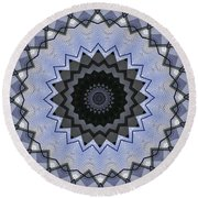 K5 Round Beach Towel