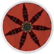 K6 Round Beach Towel