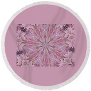Kaleidoscope 10 Round Beach Towel