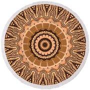 Kaleidoscope 15 Round Beach Towel