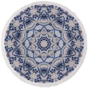 Kaleidoscope 16 Round Beach Towel
