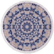 Kaleidoscope 19 Round Beach Towel